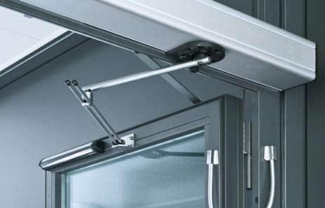 Individual adaptation to operating functions The wide range of functions helps provide user-friendly automatic access and also a safe operation of fire-rated doors.