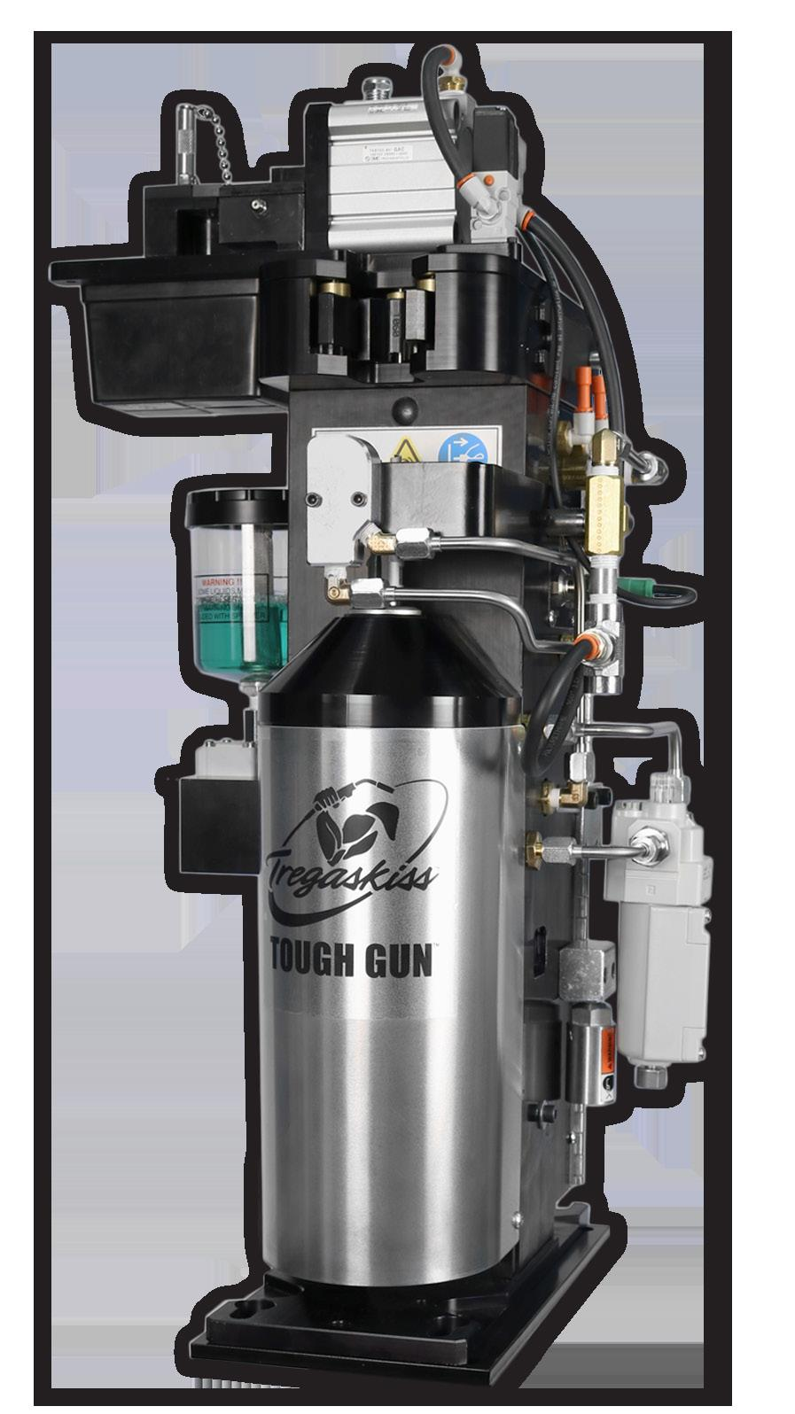 TOUGH GUN TT3 Reamer Nozzle Cleaning Station Issued May 2017 Index No. TT3/1.3 Robotic MIG (GMAW) Welding Peripheral Quick Specs Applications Automotive Fabrication Manufacturing Dimensions L: 13.
