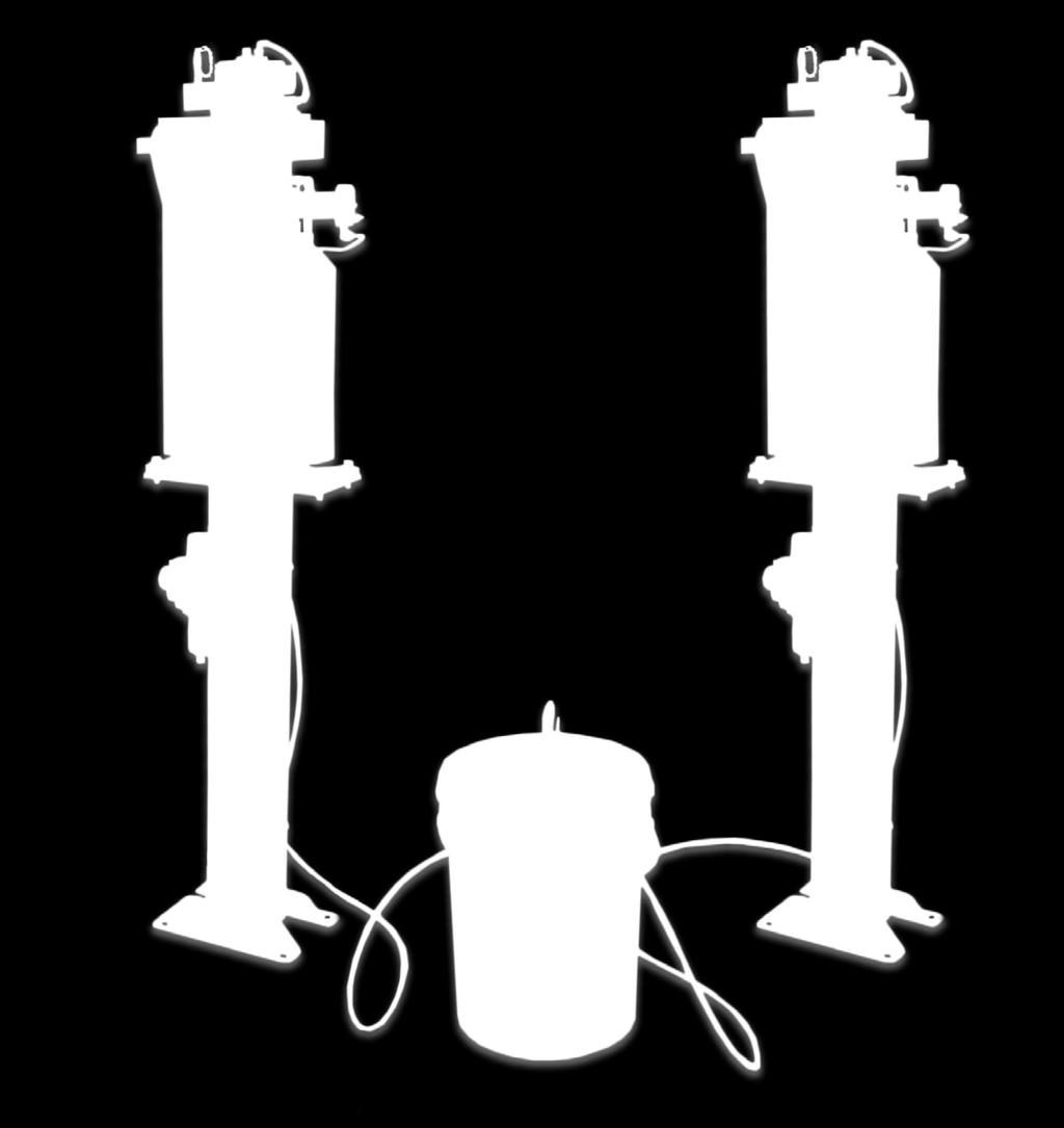 Can be gravity fed by elevating the position of TOUGH GARD Liquid source. Does not require a pump.x A fluid-level indicator displays when pail or drum requires refilling.