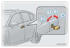 KEYLESS ENTRY OPERATION: If there is a problem with the keyless entry