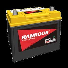 Group N Voltage HANKOOK START STOP WITH EFB TECHNOLOGY Start Stop for vehicles with many power consumers Sealed Maintenance Free with double lid X-frame Technology Carbon additives x time longer