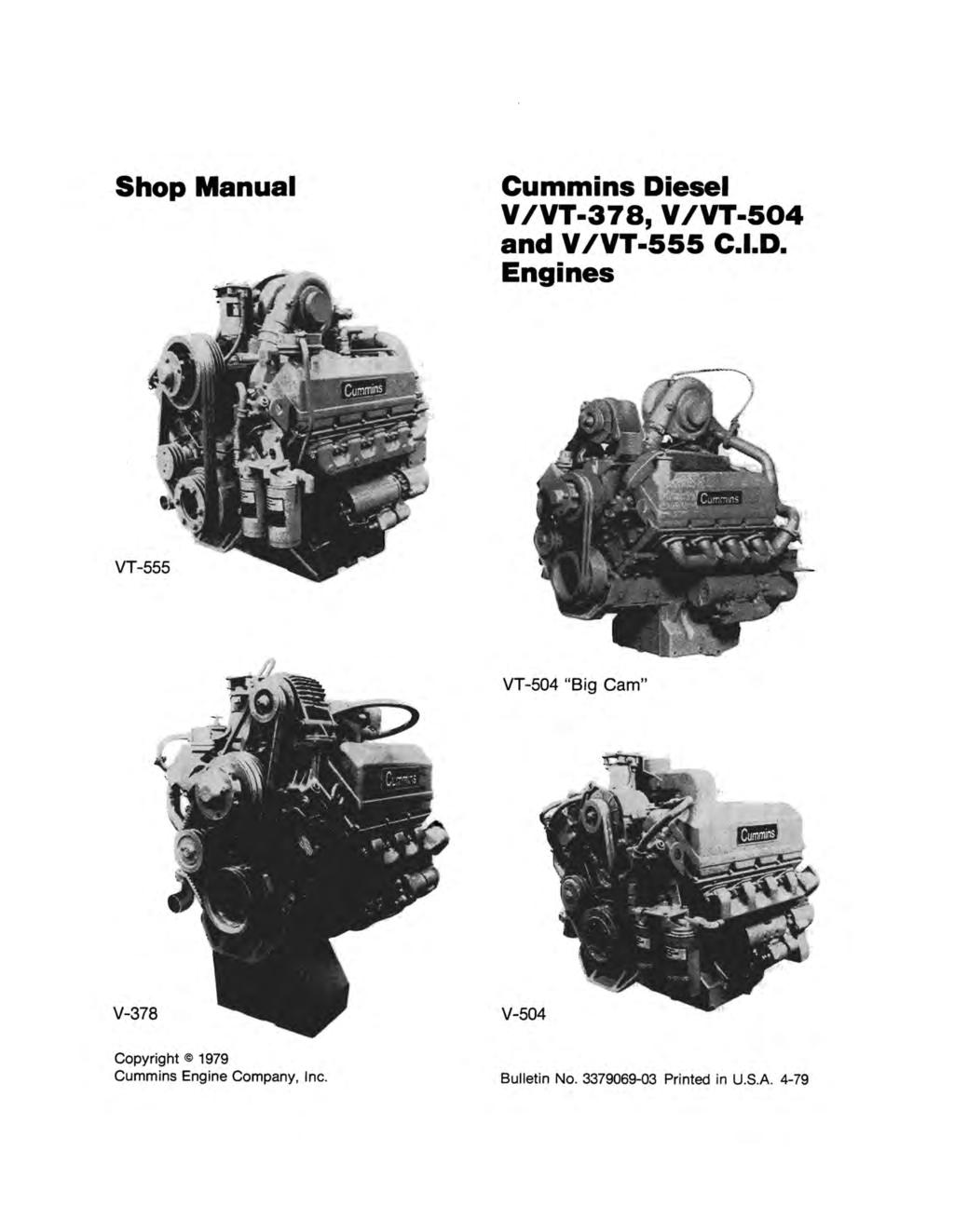 Shop Manual Cummins Di