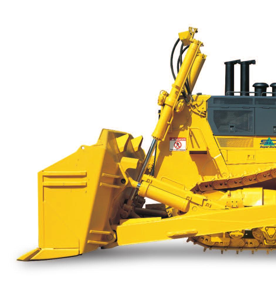 D475A-5SD S U P E R D O Z E R WALK-AROUND Komatsu-integrated design for the best value, reliability, and versatility.
