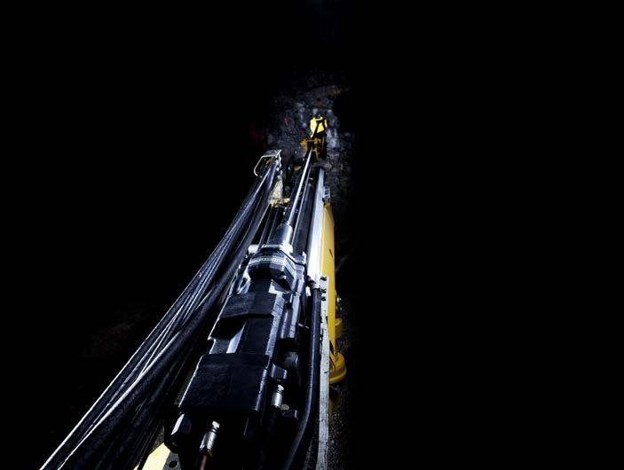 INTELLIGENT DRILLING BOOMER E SERIES DRILL RIGS ARE EQUIPPED WITH RCS 5, THE LATEST GENERATION OF OUR INTERNATIONALLY ACCLAIMED RIG CONTROL SYSTEM.