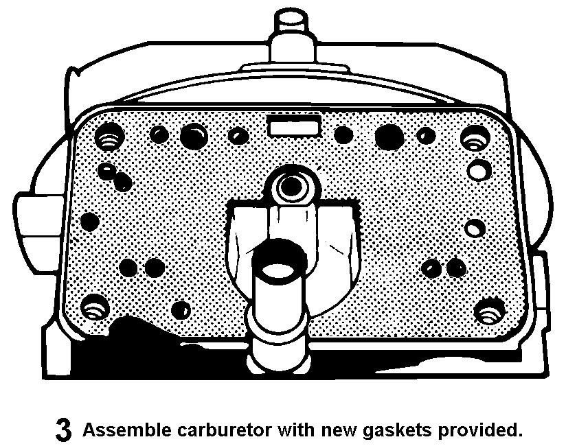 SPECIAL INSTRUCTIONS FOR MODELS 4165/4175 NOTE: Spread bore carburetors have been built with two types of main metering bodies and main body castings.