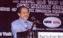 ) University of Malaya, 1973 Married, 2 daughters 1974- Executive with Sarawak Economic Development Corporation 1986 _ Involved in own