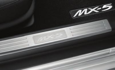 Bezels, Air Vent (Set of 4) Add an artful outline to your MX-5 s interior