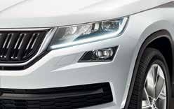 KODIAQ SPECIFICATIONS IN SUMMARY Active Ambition (In addition to Active) (In addition to Ambition) Style 17 Alloy (Ratikon) 18 Alloy (Triton) 19 Alloy (Triglav) Black Roof Rails Scuff plates on door