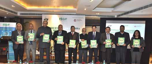 Release of Smart Grid Handbook for Regulators and Policy Makers in New Delhi on 14 th December 2017 Left to Right: Reji Kumar Pillai, President-ISGF,