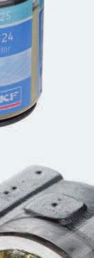 Filled with SKF Lubricants especially developed for bearing applications Temperature