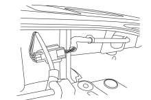 3 3) If tailgate is equipped with rear view camera, disconnect and remove the existing tailgate harness and replace with the kit provided tailgate harness.