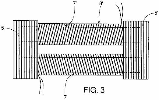 Fig.3 illustrates a structure of the magnetically responsive coils and