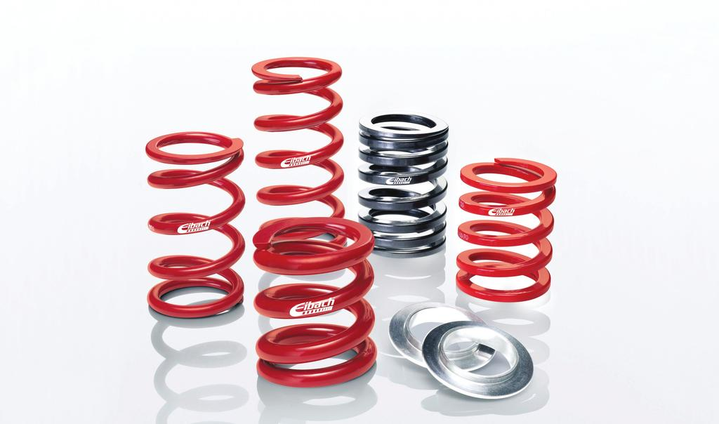 4 EIBACH SPRINGS Quality Unsurpassed Performance Perfected Ultra-Lightweight for Reduced Unsprung Mass Maximum in Combination with Smallest s Exceptional Resistance and Durability Precision