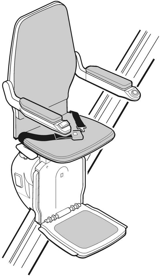 Bison 50 Straight Stairlift User Manual Issue 3