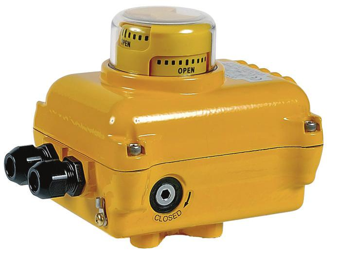 GENERAL DESCRIPTION The SA05 electric actuator is dedicated to the actuation of industrial ¼ turn valve. The torque value is 50 Nm.