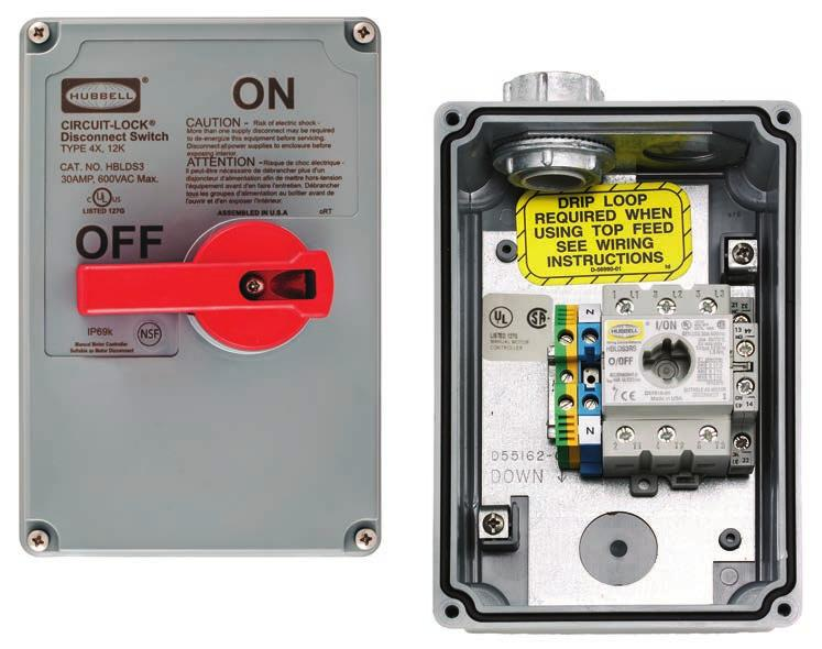 Hubbell Wiring Device-Kellems Fds60 600V Ac Enclosed Single Throw Disconnect