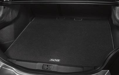 Boot tray and organiser - Saloon only A system made to work together to offer effective