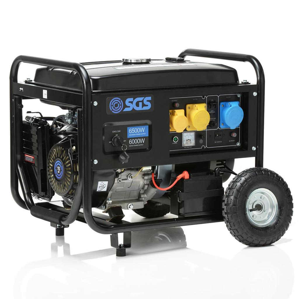 PETROL GENERATOR OWNER S MANUAL SPG2200, SPG3000, SPG6500 FOR YOUR
