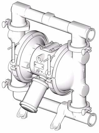 Instructions - Parts List Sanitary Series FDA-Compliant Diaphragm Pumps 311879F