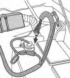 "Use 7"" Cable Ties to secure Wiring Harness Positive Terminal Install Wiring Harness Route the"
