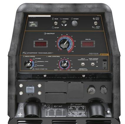 FEATURES Simple Controls - Keep training time to a minimum with the straightforward control panel of the Lincoln Electric Ranger 305 LPG.