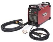 Get input power from the AC generator of the engine-driven welder with the K1816-1 Full-KVA Adapter Kit (required). Add the K2532-1 Magnum 100SG Spool Gun for aluminum MIG welding.