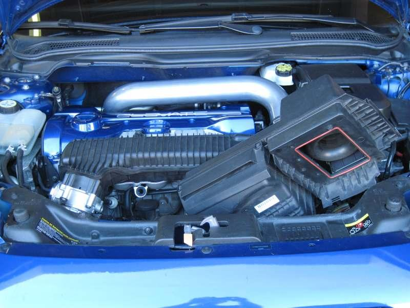 8. Remove air filter housing from the engine bay.