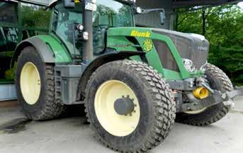 197 Fig. 2 Fendt Vario 828 with industrial tires (Nokian TRI2) Fig.