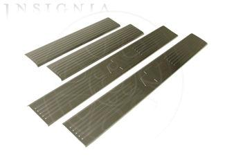 Door Sill Plate Kit - 17802520 Stylish and practical, these brushed stainless steel step shields