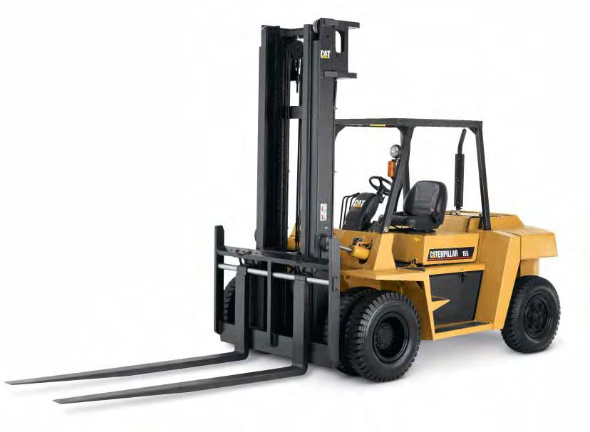 Ask For A Demonstration The advantages of the 15,500 lb capacity diesel pneumatic tire lift truck become obvious with a demonstration.