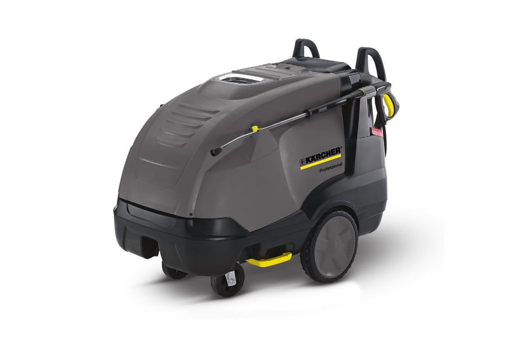 HDS 12/18 4S Our new medium and super class hot water high-pressure cleaners not only do a first-class job of cleaning, they are also extremely rugged and simple to operate.
