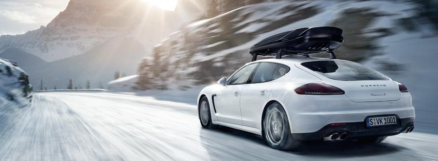 The products of Porsche Tequipment mean that you need never leave things behind.