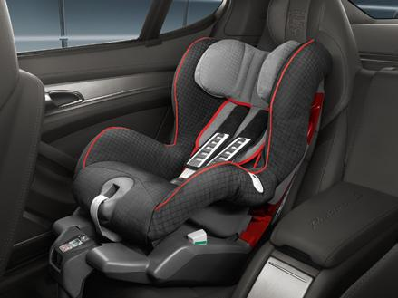 Porsche child seats meet strict safety clean with a removable and washable Baby and Porsche Junior Seat ISOFIX have passenger seat is permitted only in Group: