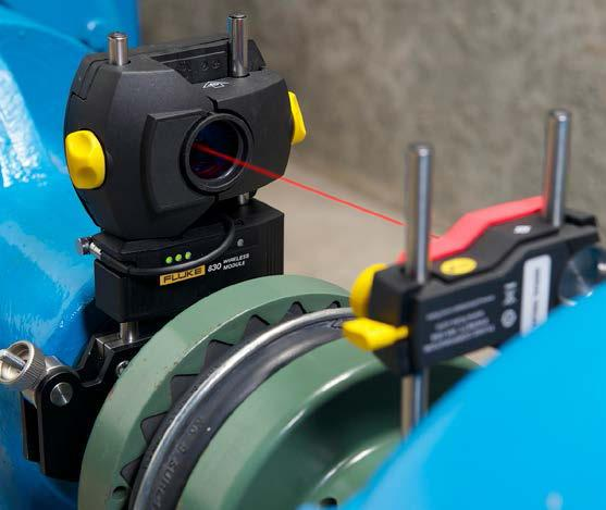 What s the alternative to conventional methods? A great alternative to traditional shaft alignment measurements is a laser shaft alignment system.