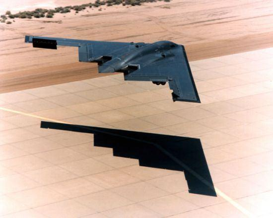 Drag rudders on the B-2 Another aerodynamic device that is less commonly used is the drag parachute.