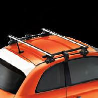 HOLD EVERYTHING REMOVABLE ROOF RACK KIT Attach and detach in a flash.