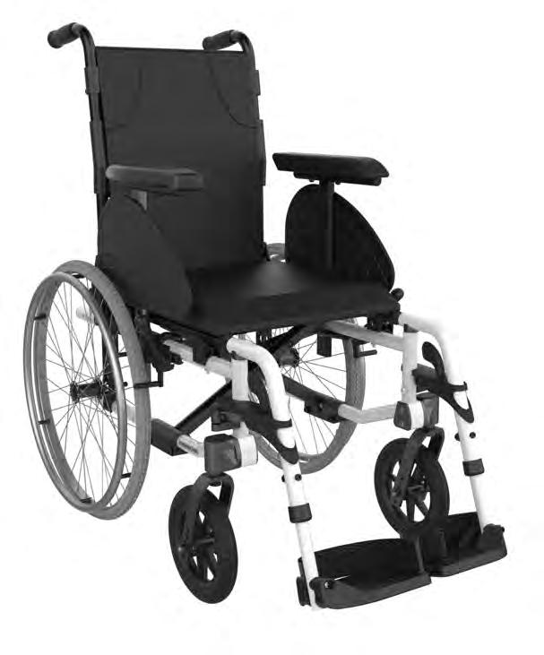 Back Seat 30 recline ELEVATING LEGRESTS & BACKREST DEPTH Folding Lightweight Aluminum Swing-away & Removable Rigid Steel
