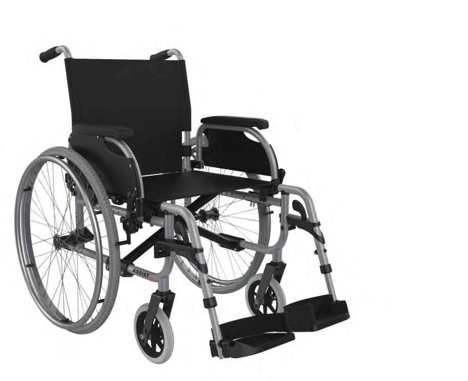 ASSIST Everyday ASSIST WARD The Aspire ASSIST is a versatile and robust self-propelling wheelchair, designed to meet the rigorous demands of Community, Hire, Hospital and Aged Care environments.