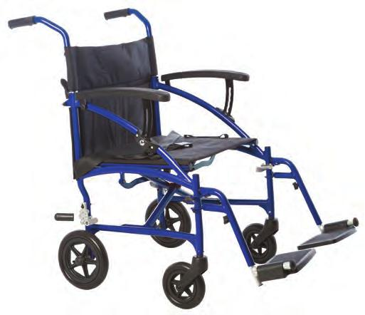 Attendant operated brakes LITE (ULTRALITE) The Aspire LITE is an ultra lightweight wheelchair that is ideal for occasional use.