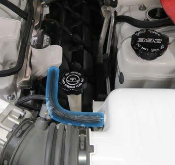 Remove any decorative engine cover(s) and foam isolators over the fuel rails. 1.