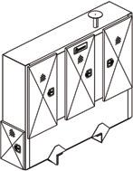 resist a maximum uniformly distributed static load. ORDER INFORMATION Use grade 8 bolts to mount. Refer to the Merritt Mounting Instructions for correct installation.
