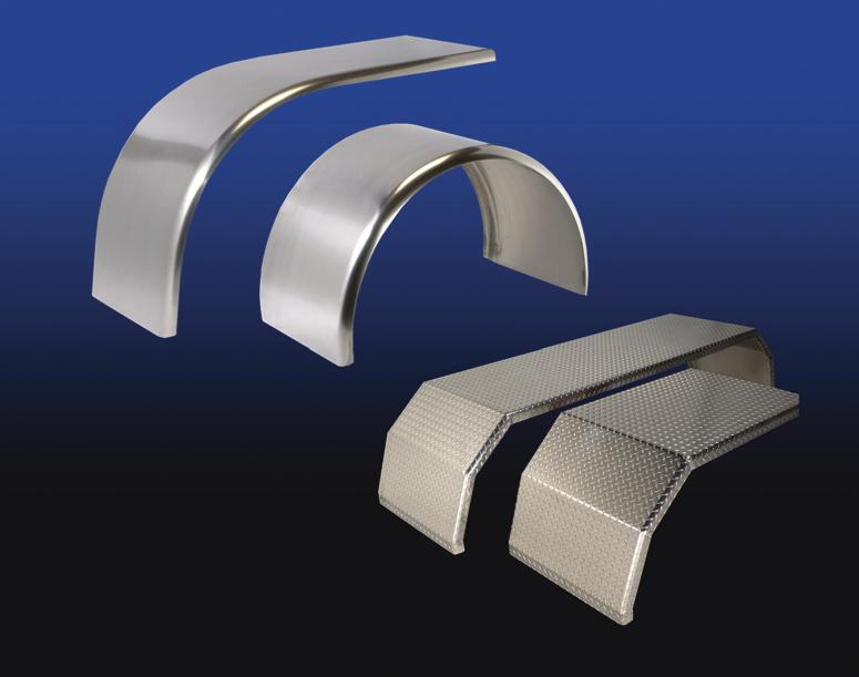 Builder of High Performance, High Quality Truck Products Deep Fenders New style fenders; Deep Drop Curved an addition 5 on the radius, which follows the tire radius.