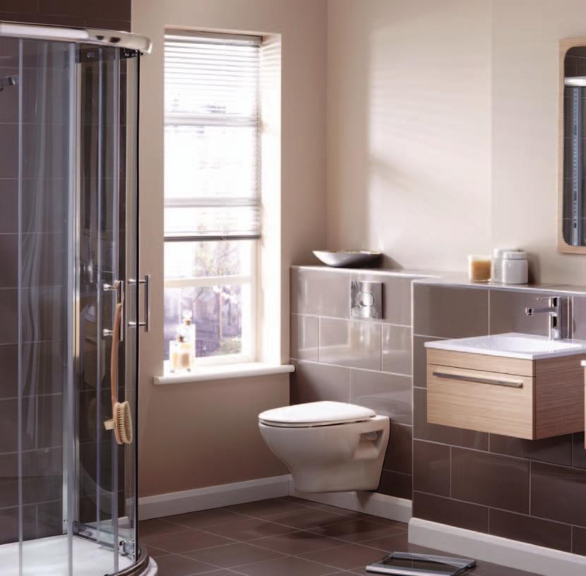 Sand Zebrano Perfect for an en-suite, twin washbasins provide both individual washing areas and ample personal storage.