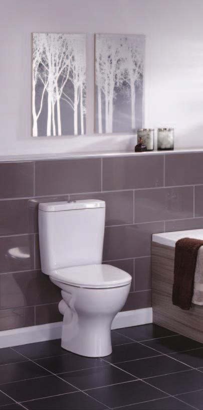 Drift Ideal for a family bathroom, where style is paramount,