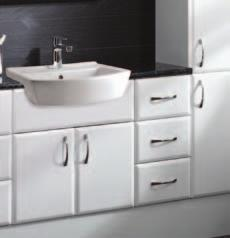 Features and Benefits storage Keep your bathroom tidy and your surfaces uncluttered by planning plenty of