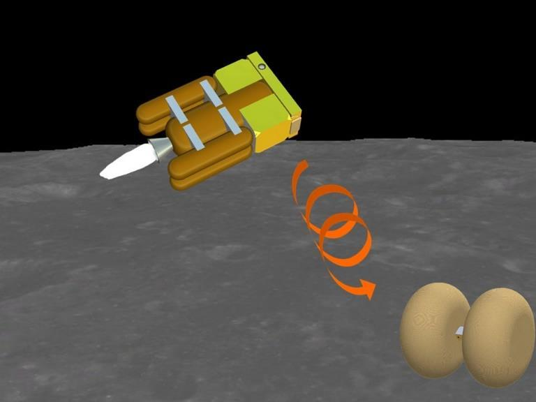 SLS EM-1 secondary payload OMOTENASHI (Outstanding MOon exploration TEchnologies demonstrated by NAno Semi-Hard Impactor) The smallest moon lander launched by