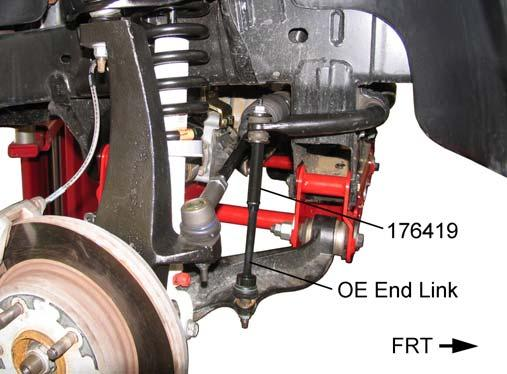 8) Bleed the front brakes as follows: Fill master cylinder reservoir with approved brake fluid. Attach a clear hose to bleeder valve of right front caliper.