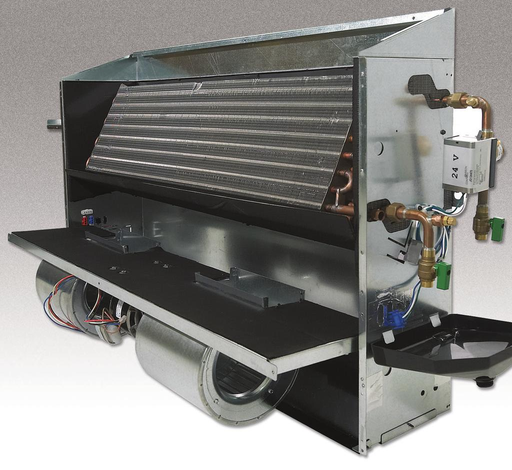 End panels are removable to allow for even greater access. Coils All fan coils are available in 2 or 4 pipe configurations.