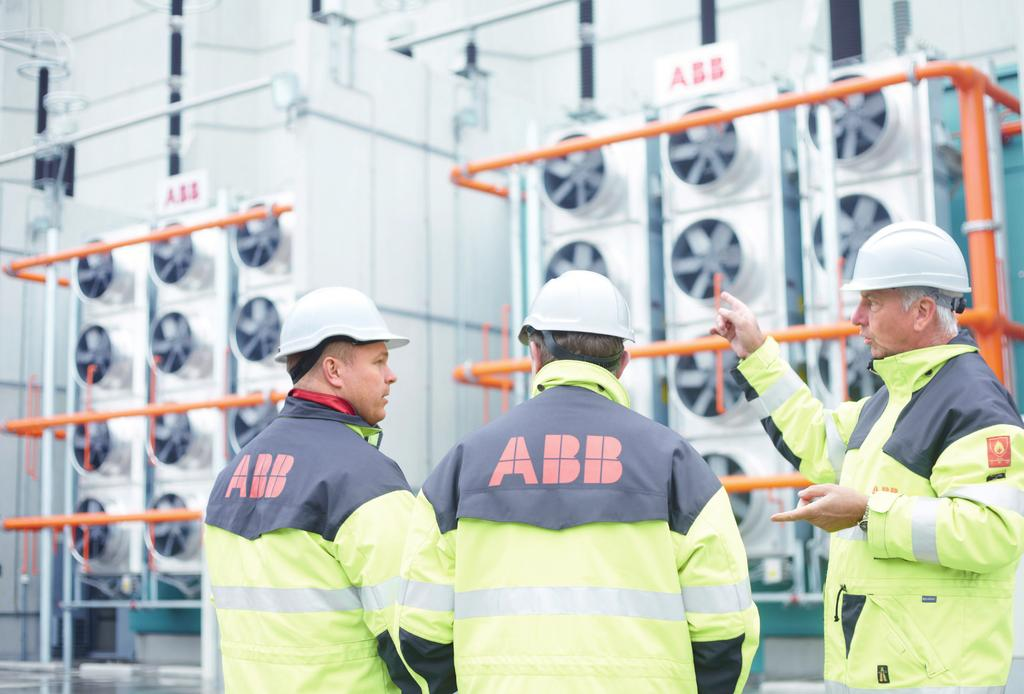 Boosting productivity and efficiency We have always found the ABB service experts to be highly competent and flexible.