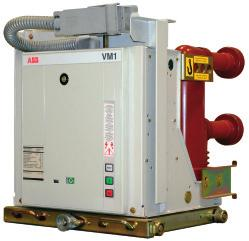 APPARATUS 6.4 VM1 Vacuum circuit-breakers (1) Rated uninterrupted currents guaranteed with withdrawable circuit-breaker installed in UniGear ZS1 type switchgear with 40 C air temperature.